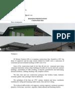 Presentation Mirano Construct SRL