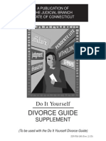 DIY Divorce Guide Supplement (Connecticut)