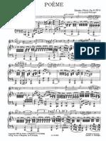 Fibich - Poeme Op41 No4 Violin Piano