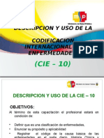 Capacitacion Cie 10 2012