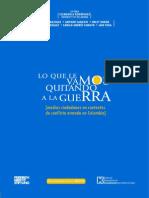 2008. GANÁNDOLE TERRENO AL MIEDO cine cinta de sueños