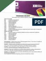 JMC2014 Programa