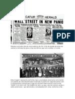 Crise de 1929, Hist
