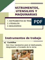 Instrum,Utens y Maq