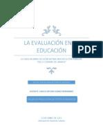 La Evaluación Educativa Monografia