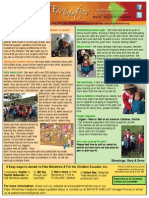 March - May 2015 Newsletter
