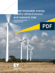 Ey Global Renewable Energy Country Attractiveness and Resource Map Sep 2014