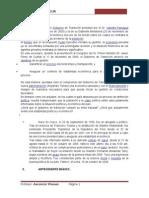 Informe Soinforme sobre Valentin Paniagua
