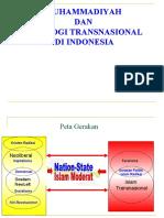 MUHAMMADIYAH & iDEOLOGI TRANSNASIONA