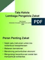 Tata Kelola Zakat