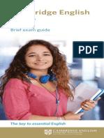 139156 Cambridge English Key Dl Leaflet