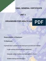Presentation Unit 03 NEBOSH Certificate