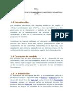 Educacion en AEDUCACION EN AMERICA LATINAmerica Latina Tema 1