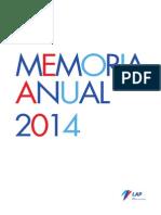 2014 Memoria Anual Esp