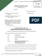 Silvers v. Google, Inc. - Document No. 61