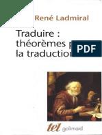 Traduire - Jean Rene Ladmiral