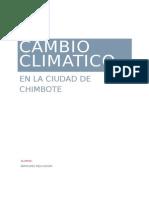 Cambio Climatico en Chimbote