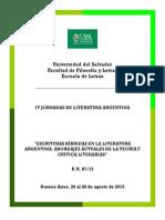 II Circular_Jornadas de Literatura Argentina 2015_USAL