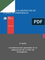 Guia Elaboracion de Planes de Emergencia