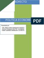 Primera Entrega politica economica