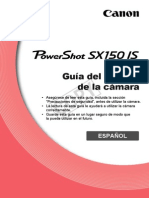 Canon Powershot Sx150 is (Manual Del Usuario)