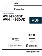 Manual Avh - 2480bt e Avh - 1480dvd Pioneer