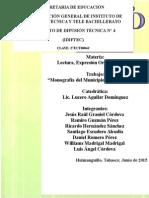 Monografia Completa de Huimanguillo