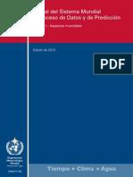 Manual Del Sistema Mundial de Proceso Dedatos y de Prediccion