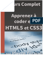 Cours Complet Apprenez à Coder en HTML CSS