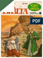 1-. de Adan y Eva a Abraham (La Biblia Ilustrada)
