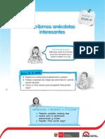4° básico LA ANECDOTA