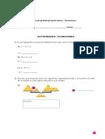 Guia de Ecuaciones 5 Clase 3