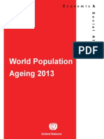 World Population Ageing Report 2013