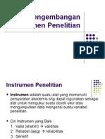 11.Pengembangan Instrumen Penelitian