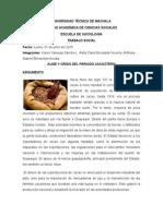 Auge y Crisis Del Periodo Cacaotero Ecuador
