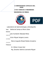 Informe de Sedimentologia-final Misael