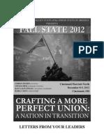 Fall State Agenda