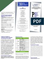 Folleto PPNCG en Psicologia de La Educacion
