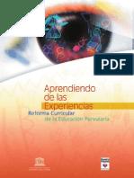 Aprendiendo de Las Experiencias Reforma Parvularia Chile