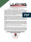 Declaración Pública – RED – 22 de Junio de 2015