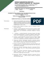 Pembentukan Komite Dan Tim Ppi