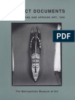 Perfect Documents Walker Evans and African Art 1935