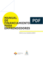 Manual de Finananciamiento ASECH 2014