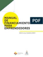 Manual de Finananciamiento ASECH 2014