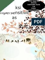 PPT- Reaksi hipersensitifitas