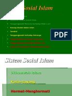 Sistem Sosial Islam
