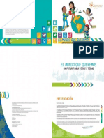 Child-Friendly Version of the OWG Report on SDG(in Spanish)