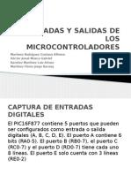 Entradas y Salidas de Los Microcontroladores