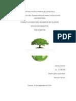 Ambiente y Su Dinamica Educacion Ambiental