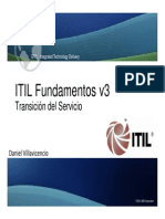 ITIL v3 Foundation Transition Service